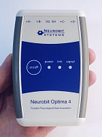 Neurobit Optima - portable neurofeedback and biofeedback equipment